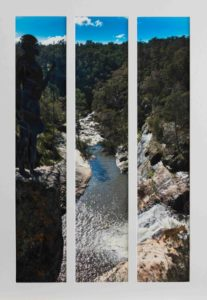 Title: Overwatch at Woolshed Falls                                                                          - Artist: Peter Rowe                                                                                      (2018)