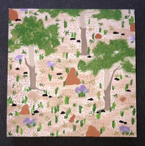 Title: Darwin Country                                                                           - Artist: Emily Bell                                                                                      (2021)